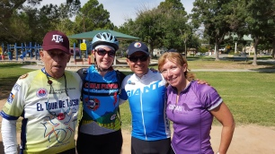 Fun Group Ride in the Valley
